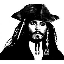 Disegno Di Johnny Depp Pirata Dei Caraibi Da Colorare Per Bambini