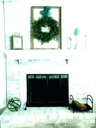 refacing a brick fireplace with stone veneer fireplace refacing cost resurfacing a brick fireplace how to