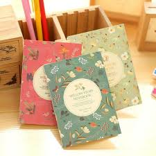 Personal Journals For Sale 3 Pcs Korean Stationery Cute Lovey Flower Bird Mini Diary Notepads Notebooks