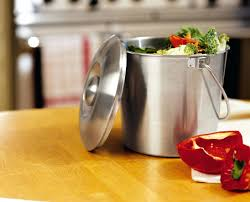 kitchen composting containers brushed stainless steel compost pail ceramic kitchen compost bin australia