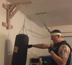 how to make a heavy bag stand for less than 15