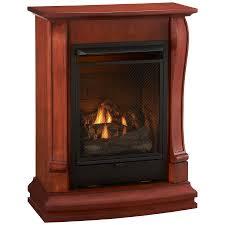 cedar ridge hearth 29 13 in dual burner vent free sienna corner or wall
