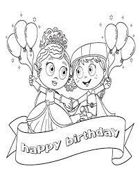 Small Picture Happy Birthday Coloring Pages Disney Cartoon Birthday Coloring