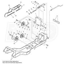 simplicity subframe & hitch for snow blowers simplicity 1695196 Poulan Snow Blower Repair Snow Blower Engine Diagram #29