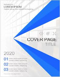 5 Best Business Report Cover Page Templates For Ms Word Ms