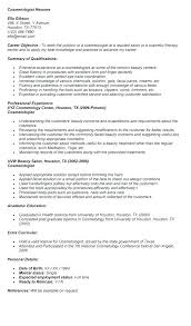 Student Resume Example Resume Template Directory