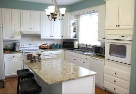 painted kitchen cabinets with white appliances. White Kitchen Cabinets With Appliances Incredible On Regard To Painted E
