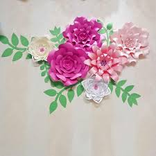 Paper Flower Designs Customized Personalized Giant Paper Flower Nursery Wedding Party Wall Decor Large Flowers Wedding Arach Free Designs Templates