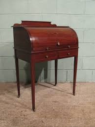 antique edwardian gany cylinder desk