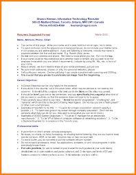 8 How To Write A Resume Canada Riobrazil Blog