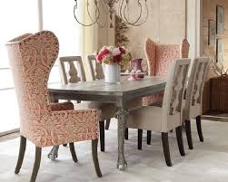 using upholstered host chairs haskells regarding dining room arm chairs