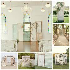 wedding backdrops vintage doors dinner 4 two