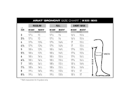 44 Credible Ariat Concord Chaps Size Chart
