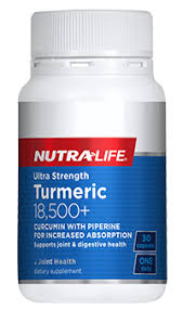 <b>Ultra Strength</b> Turmeric 18,500+ | Nutra-Life New Zealand