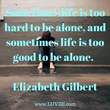 being alone es