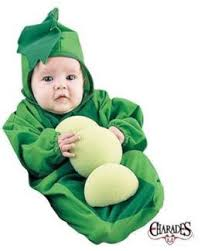 Exceptional Baby Pea In The Pod Bunting Costume Sz Newborn Fits 0 3 Months | EBay