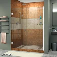 shower door doors a lovely aqua x hinged wide high do 60 glass wide shower door