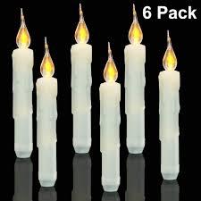 Battery Operated Window Lights Amazon Com Flameless Taper Candles Battery Operated Window