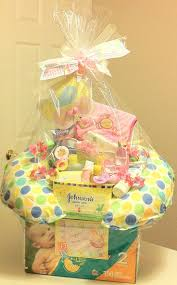 Gift Basket Wrapping Ideas 25 Best Baby Girl Gift Baskets Ideas On Pinterest Baby Baskets