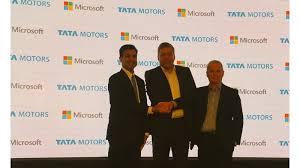 Tata Motors Partners Microsoft To Build Connected Cars Cartrade