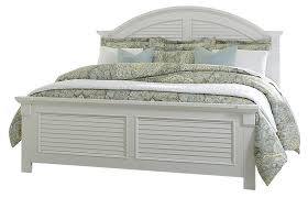 Liberty Furniture Summer House Queen Panel Bed in Oyster White 607-BRQ SPECIAL