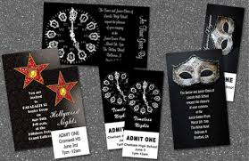 Prom Invitations - Cheap Prom Party Invitations | Stumps Party