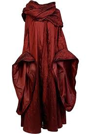 Sidnor Got Game Of Thrones The Red Woman Melisandre Cosplay Costume Outfit Suit Dress