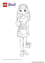 Small Picture lego friends girl Coloring pages Printable