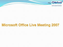 Microsoft Office Meeting Microsoft Office Live Meeting Ppt Download