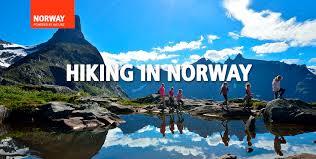 hiking in fjord norway
