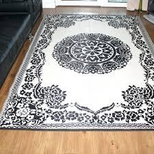 new hexagon outdoor rug decorative black cream indoor outdoor rug attic vintage french style indoor outdoor