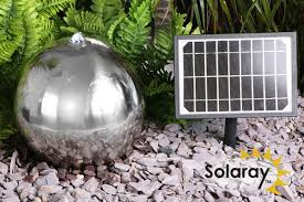 Gorgeous Solar Water Fountain Design With Four Tier Angel Seating Solar Water Features With Lights