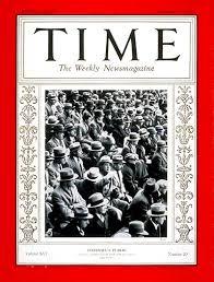 TIME Magazine Cover: Football's Public - Nov. 17, 1930 - Football - Sports