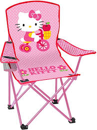 Hello Kitty Youth <b>Folding Chair</b> with Armrest and Cup Holder ...