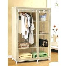 clothes rack covered portable wardrobe target wardrobe racks cloth rack target portable closet home depot tan covered freestanding clothes rack with
