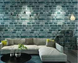 Brick Behang Better Us 9 3 Off Beibehang 3d Wallpaper Red Brick