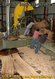 vertical bandsaw mill. saw mill cutting exotic wood vertical bandsaw d