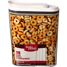 better homes gardens flip tite cereal container 23 5 cups com