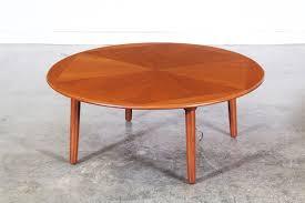 h w klein teak coffee table for brahmin