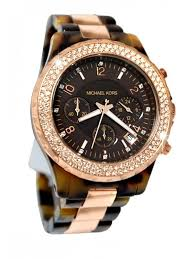 kors chronograph tortoise rose gold watch for men michael kors chronograph tortoise rose gold watch for men