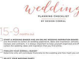 Printable Wedding Timeline Checklist New Printable Wedding Timeline Checklist