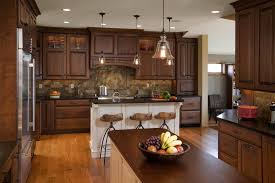kitchens with wood cabinets and white appliances kitchens with wood