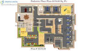 dental office design floor plans. 3-d Dental Office Design- Floor Plan-Pediatric Office-3578.00 Sq. Ft. Plan #3578.00 Design Plans O