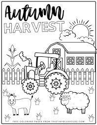 You'll see a little photograph of the finished craft and a brief description. 6 Free Printable Fall Coloring Pages For Kids This Tiny Blue House