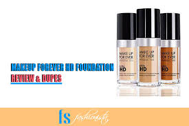 makeup forever hd foundation review swatches dupes