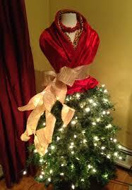 Girl With Blond Hair Wears Luxurious Dressposing Beside Christmas Girls Christmas Tree Dress