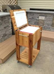 outdoor ice chest wood the wooden ice chest cooler is a rustic way to keep beverages outdoor ice chest wood