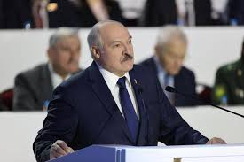 Belarusian president alexander lukashenko speaks during a meeting with the country's political activists in minsk, belarus, wednesday, sept. Belarus Strongman Alexander Lukashenko Crows That He S Survived A Foreign Blitzkrieg Cbs News
