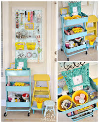 craft room workstation and organization tips the36thavenue com