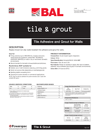 tile amp grout tile adhesive and